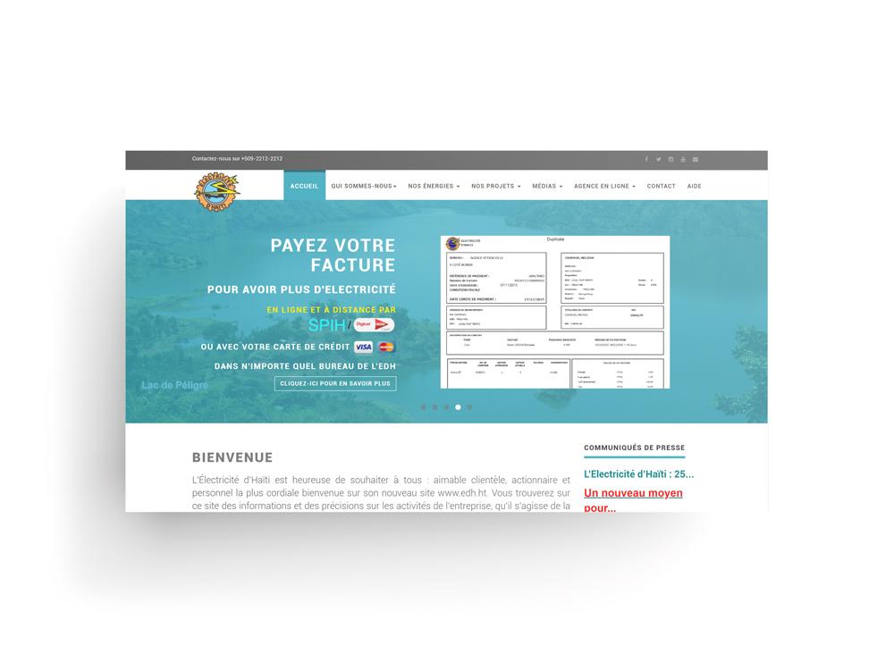site web électricité d'haiti